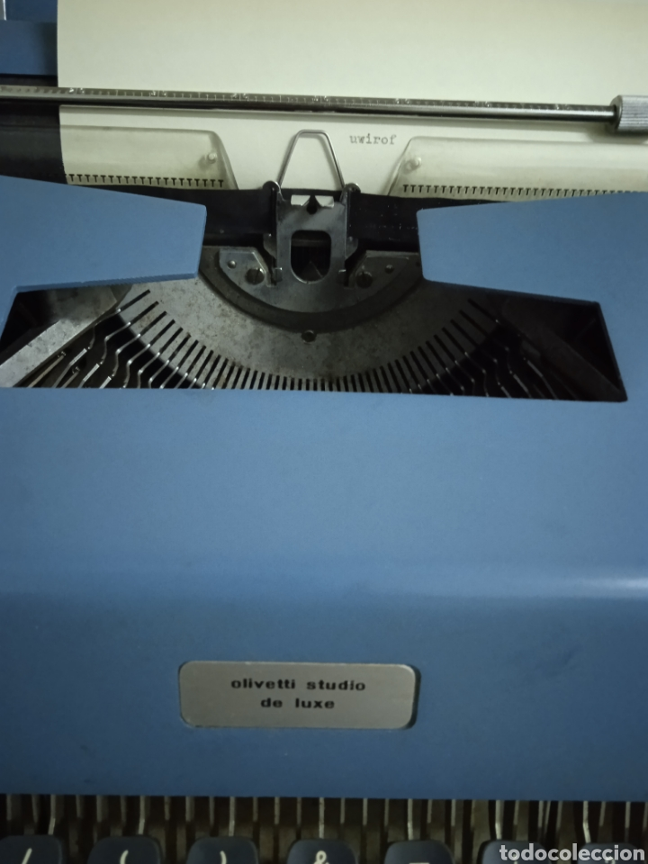 Antigüedades: Maquina de escribir Olivetti Studio de Luxe - Foto 2 - 234536650