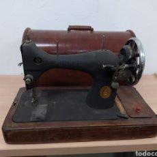 Antigüedades: MÁQUINA DE SOBREMESA SINGER. Lote 234550995