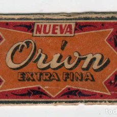 Antigüedades: NUEVA ORÍON EXTRA FINA - HOJA DE AFEITAR CON SUS FUNDAS. Lote 234553760