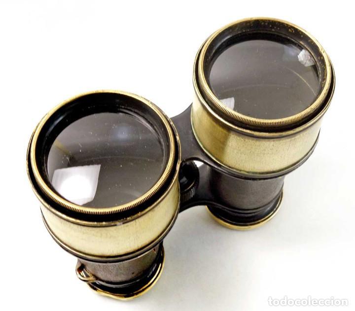 Antigüedades: Preciosos binoculares de caza e hípica con excelente optica. Alemania 1900 - Foto 3 - 234555265