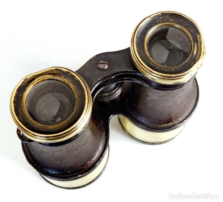 Antigüedades: Preciosos binoculares de caza e hípica con excelente optica. Alemania 1900 - Foto 4 - 234555265