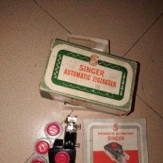 Antiquités: ACCESORIO SINGER AUTOMATIC ZIGZAGGER. Lote 234580810