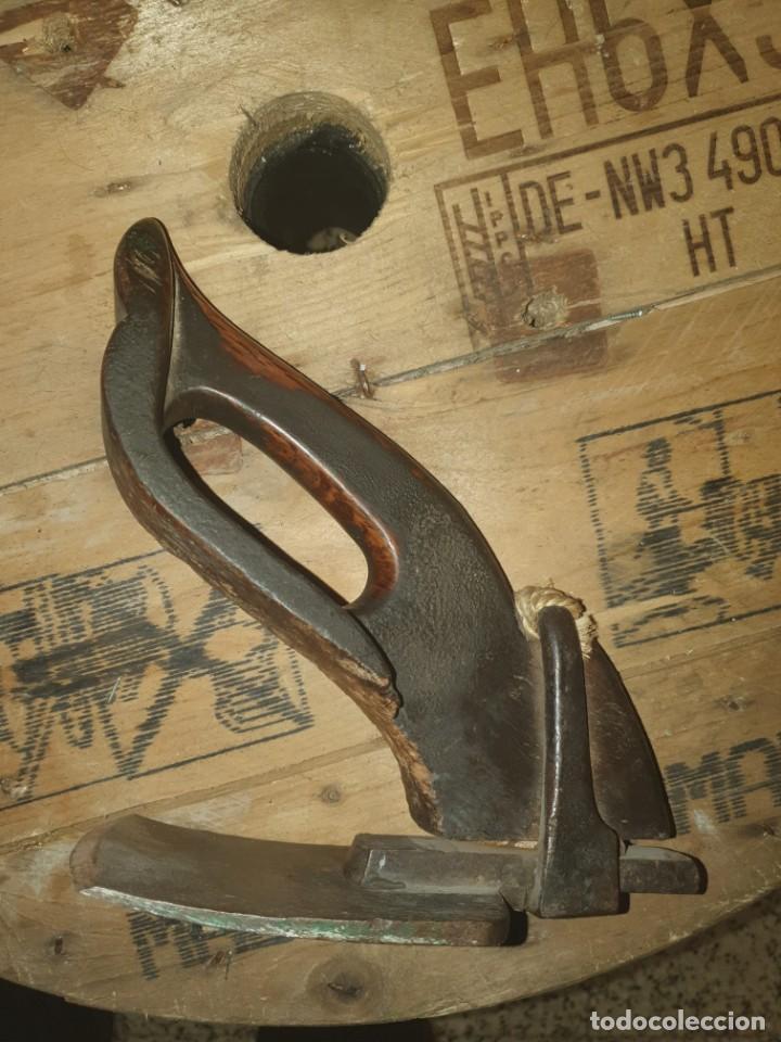 Antigüedades: Azuela Tonelero de carpinteria - Foto 5 - 234584945