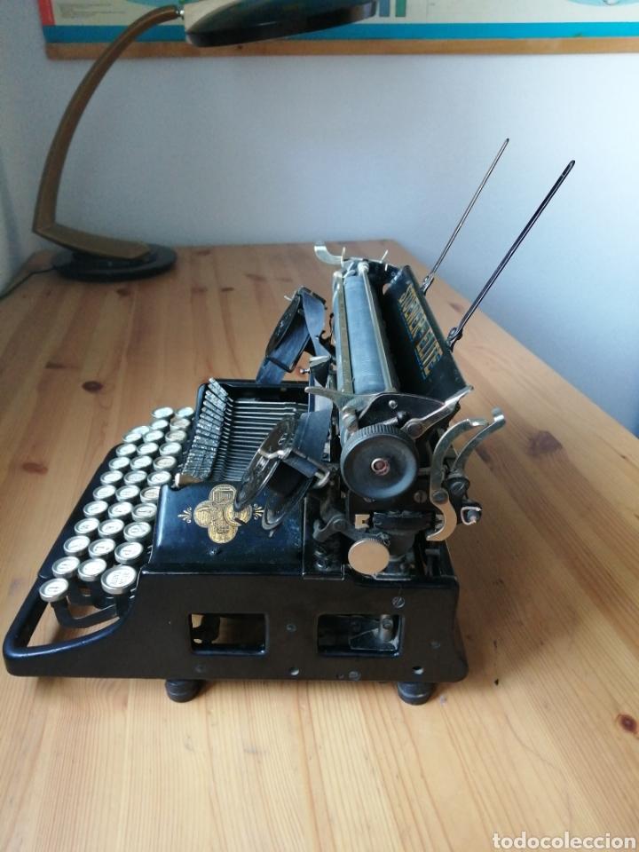 Antigüedades: Máquina de escribir Stoewer Elite. - Foto 2 - 234682050