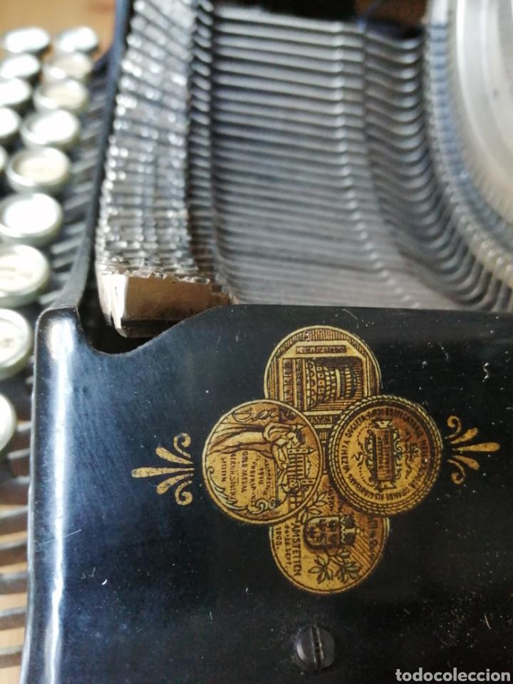 Antigüedades: Máquina de escribir Stoewer Elite. - Foto 3 - 234682050