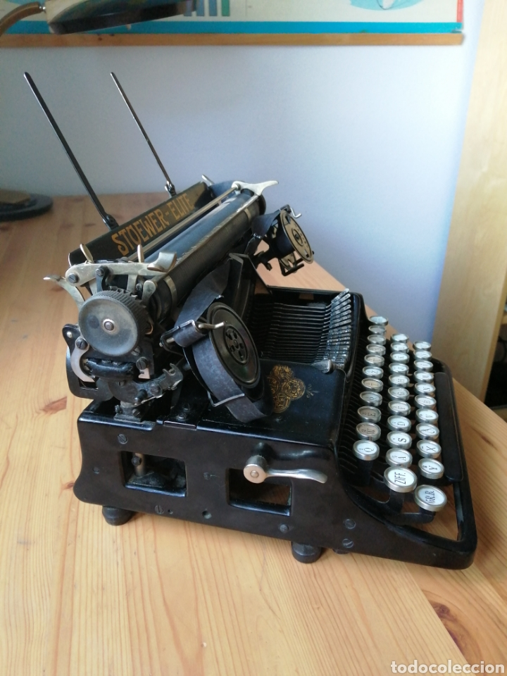 Antigüedades: Máquina de escribir Stoewer Elite. - Foto 4 - 234682050
