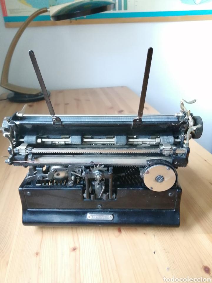 Antigüedades: Máquina de escribir Stoewer Elite. - Foto 5 - 234682050