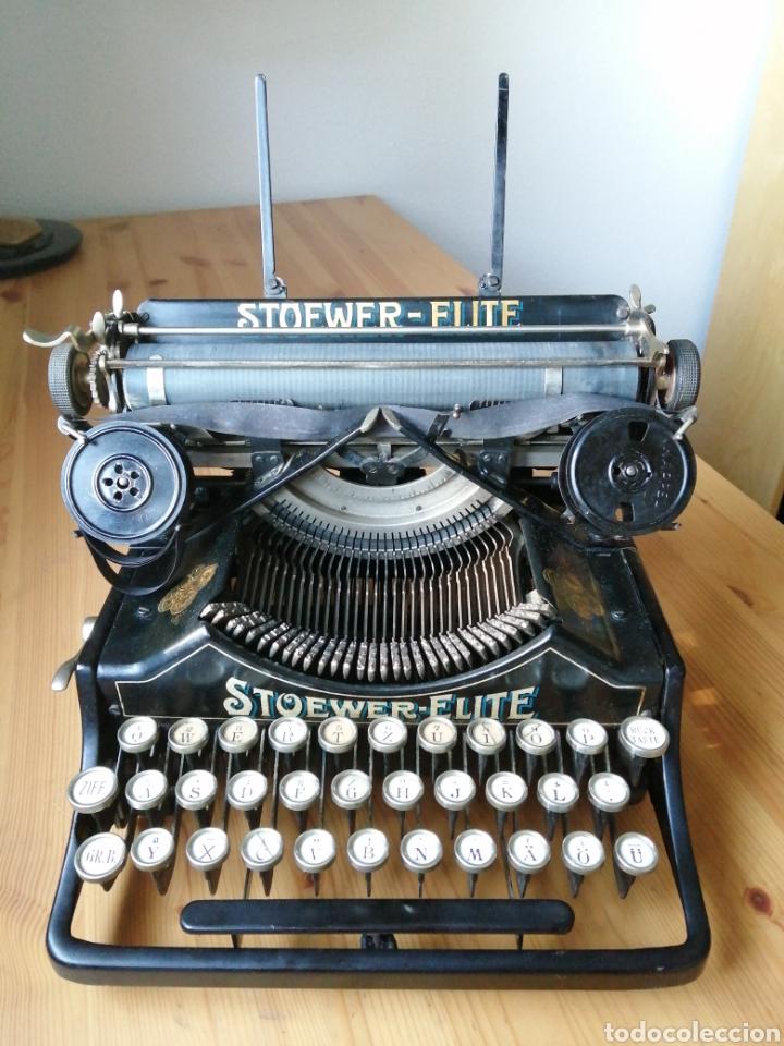MÁQUINA DE ESCRIBIR STOEWER ELITE. (Antigüedades - Técnicas - Máquinas de Escribir Antiguas - Otras)