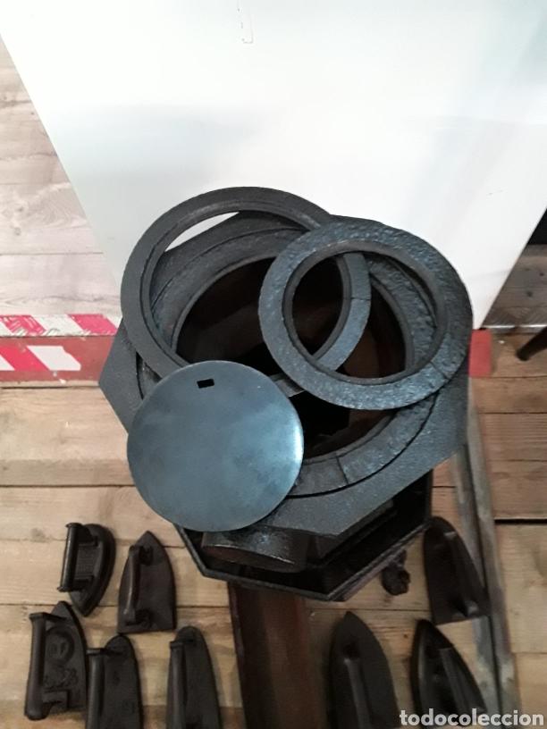 Antigüedades: Estufa calienta planchas - Foto 7 - 234693865