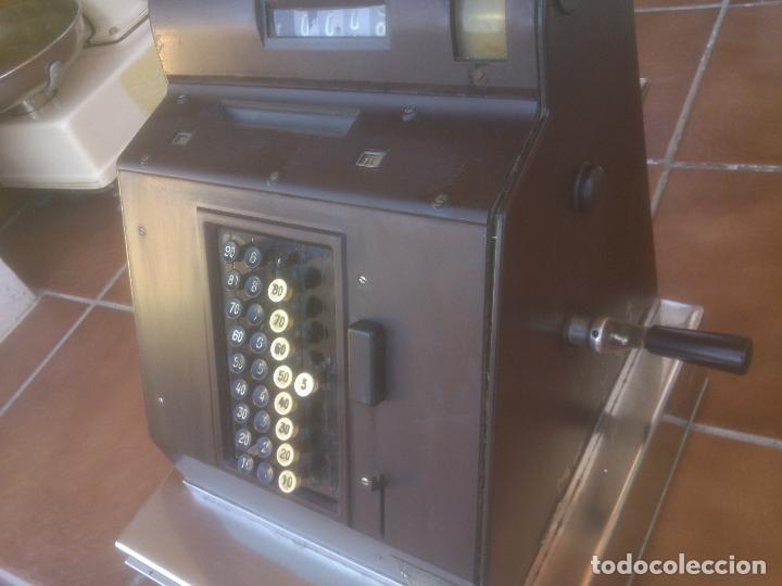 Antigüedades: REGISTRADORA HUGIN KA 14 AÑOS 50S - Foto 4 - 234774905