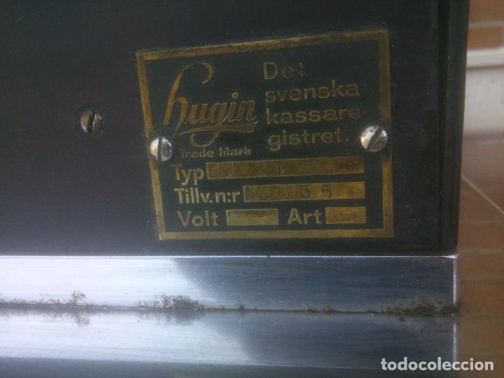Antigüedades: REGISTRADORA HUGIN KA 14 AÑOS 50S - Foto 6 - 234774905