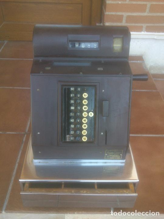REGISTRADORA HUGIN KA 14 AÑOS 50S (Antigüedades - Técnicas - Aparatos de Cálculo - Cajas Registradoras Antiguas)