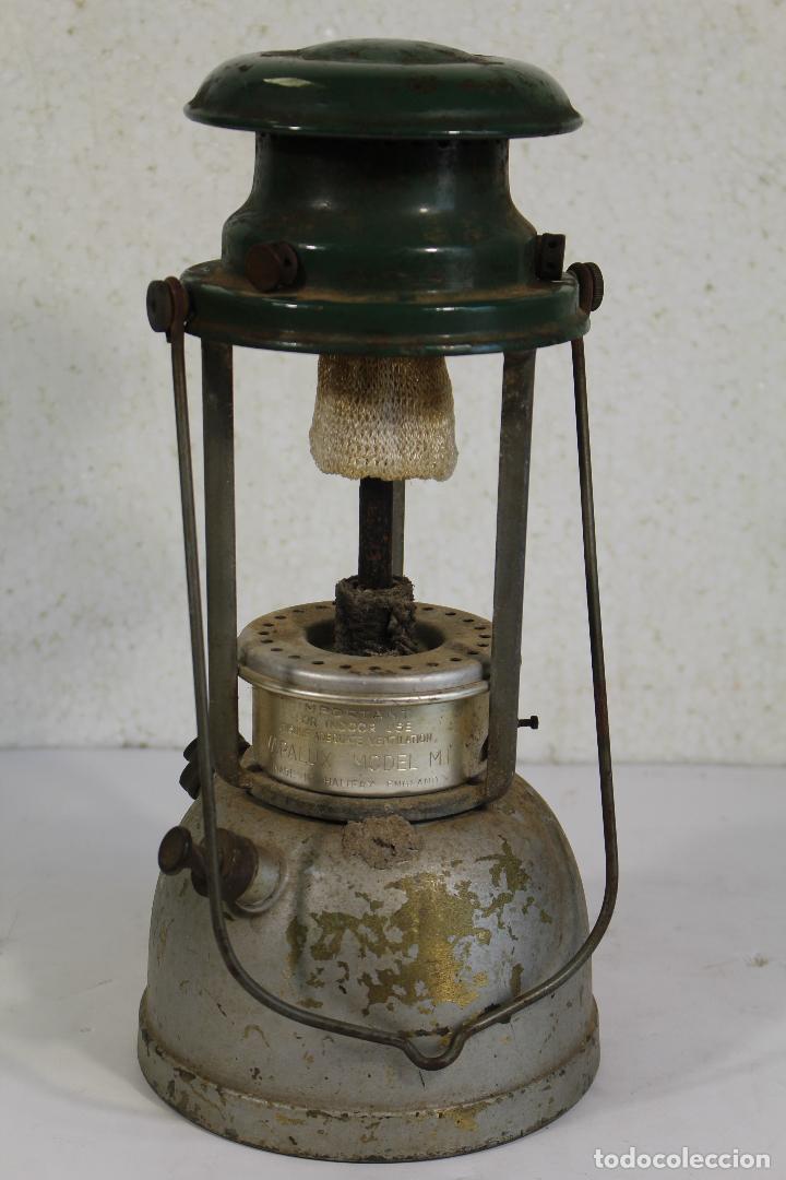 Antigüedades: lampara farol apalux willis bates Aceite de Parafina Lámpara Linterna.- - Foto 3 - 268868024