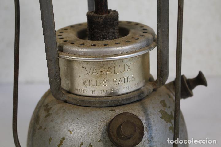 Antigüedades: lampara farol apalux willis bates Aceite de Parafina Lámpara Linterna.- - Foto 6 - 268868024