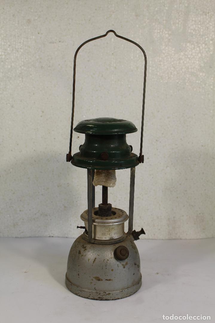 Antigüedades: lampara farol apalux willis bates Aceite de Parafina Lámpara Linterna.- - Foto 7 - 268868024