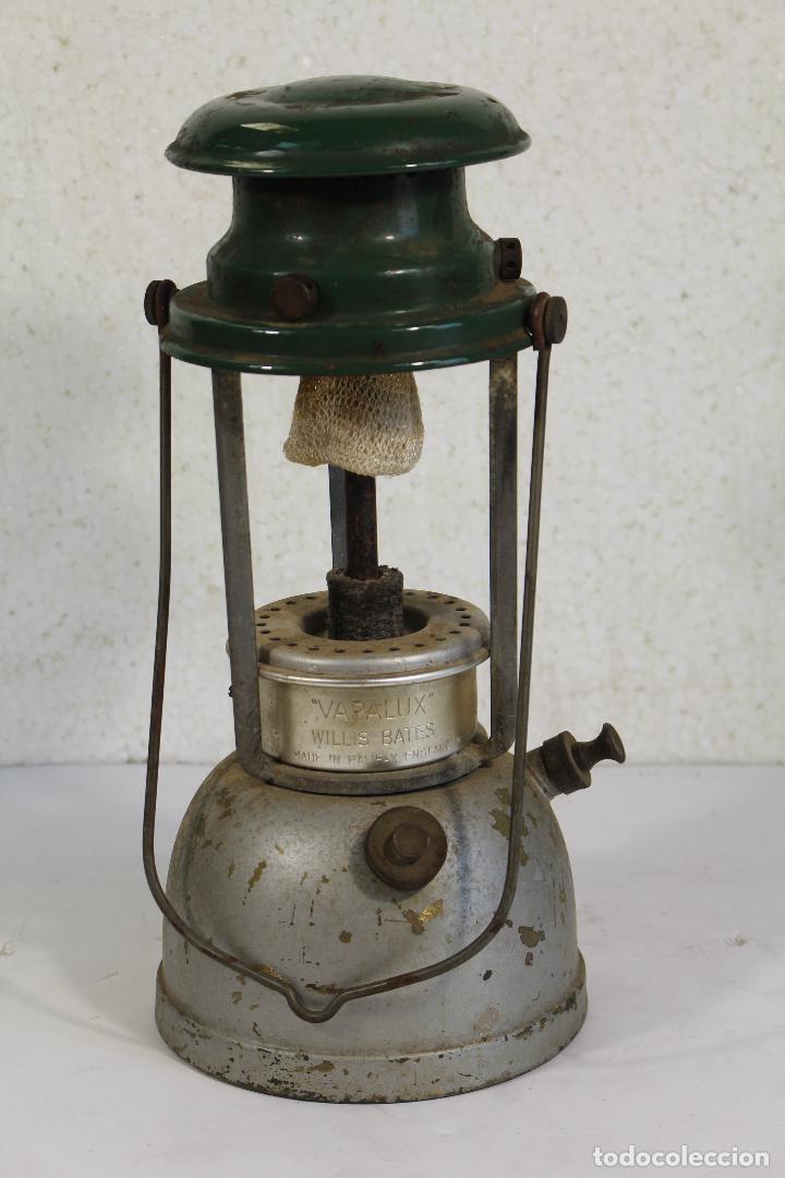 LAMPARA FAROL APALUX WILLIS BATES ACEITE DE PARAFINA LÁMPARA LINTERNA.- (Antigüedades - Técnicas - Varios)