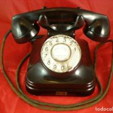 Téléphones: TELEFONO SOBREMESA STANDARD ELECTRICA CTNE - BAQUELITA - FUNCIONA. Lote 234374800