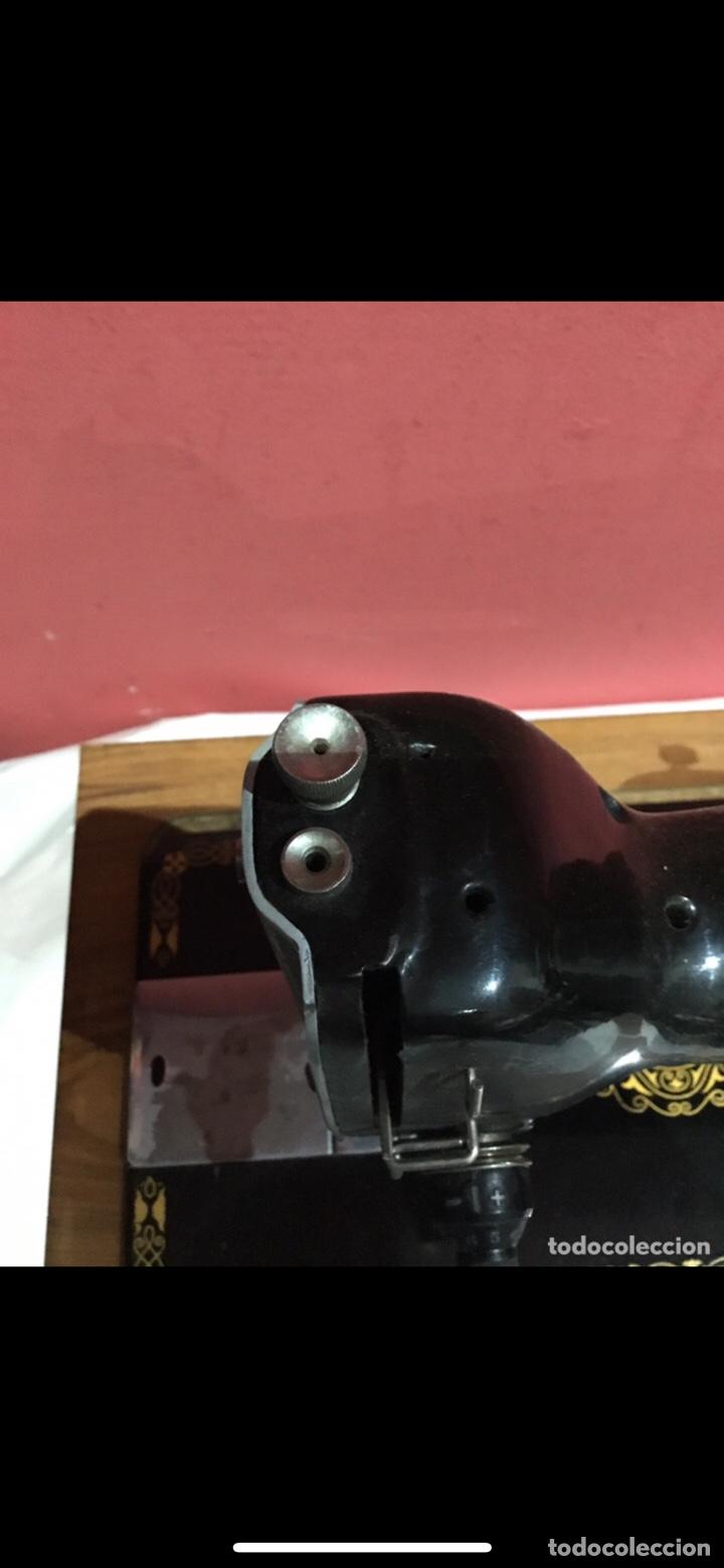 Antigüedades: Antigua maquina de coser sigma - Foto 9 - 235072005