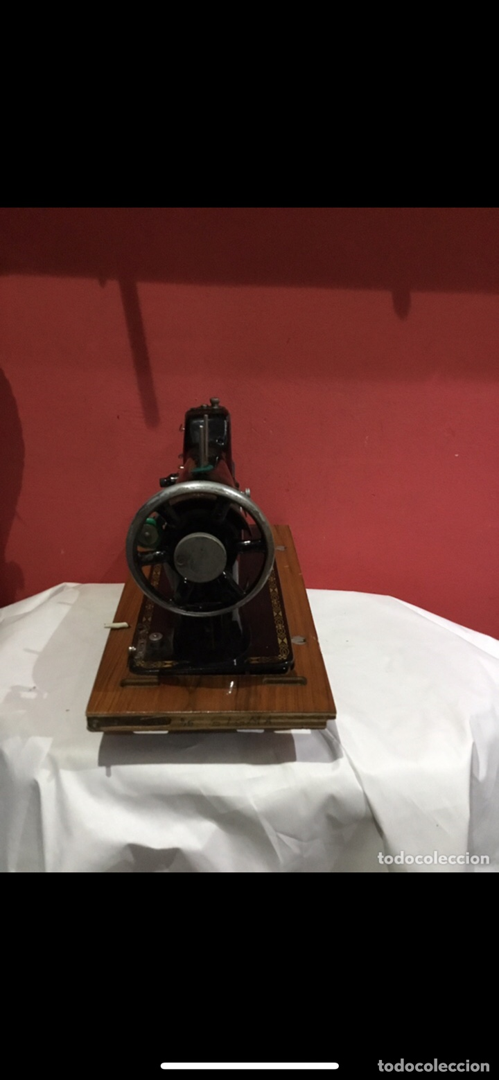 Antigüedades: Antigua maquina de coser sigma - Foto 16 - 235072005