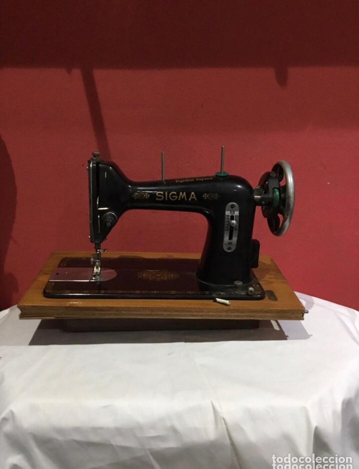 ANTIGUA MAQUINA DE COSER SIGMA (Antigüedades - Técnicas - Máquinas de Coser Antiguas - Sigma)