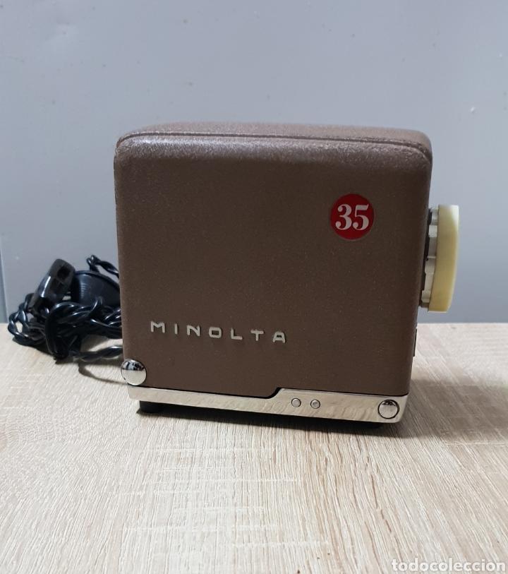 Antigüedades: Proyector Mini Minolta 35 - Foto 2 - 235084185