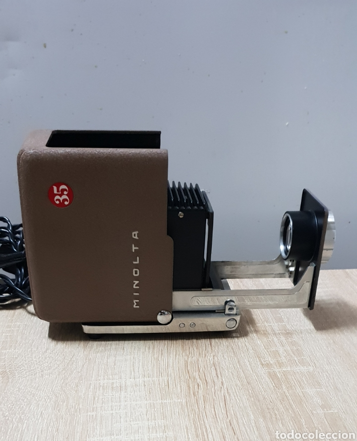 Antigüedades: Proyector Mini Minolta 35 - Foto 3 - 235084185