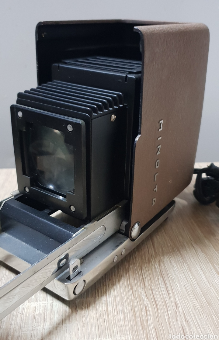 Antigüedades: Proyector Mini Minolta 35 - Foto 8 - 235084185