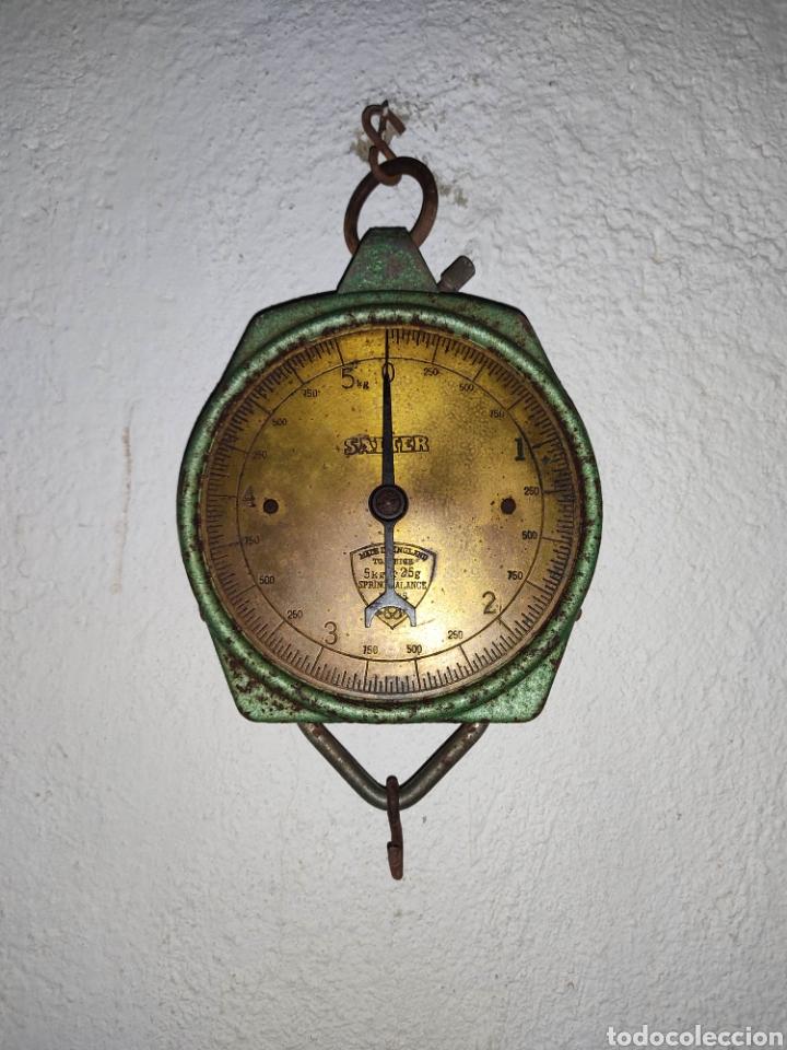 BALANZA DE MUELLE SALTER SPRING NO 235 (Antigüedades - Técnicas - Medidas de Peso - Balanzas Antiguas)