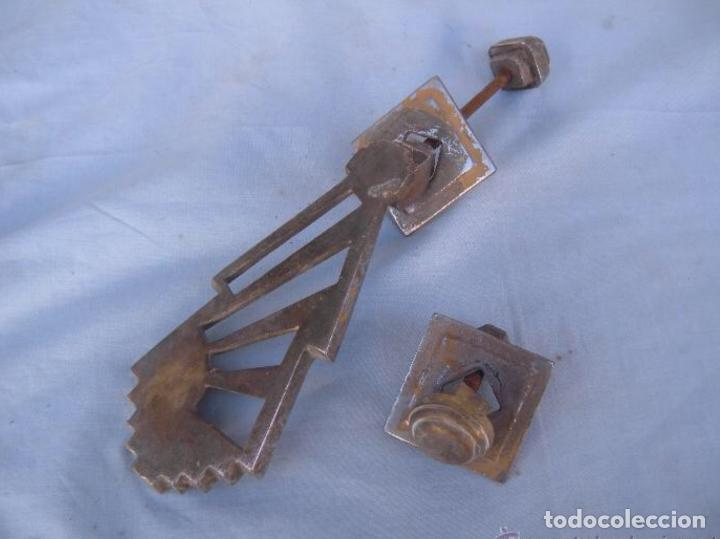 ALDABA LLAMADOR ART DECÓ (Antigüedades - Técnicas - Cerrajería y Forja - Aldabas Antiguas)