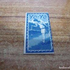 Antigüedades: FUNDA DE AFEITAR CON HOJA YO YO. Lote 235166910