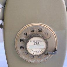 Teléfonos: ANTIGUO TELEFONO DE PARED CTNE / COMPAÑÍA TELEFÓNICA NACIONAL ESPAÑA EN COLOR GRIS. Lote 235199155