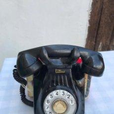 Teléfonos: TELÉFONO PARED BAQUELITA NEGRO AÑOS 60 STANDARD ELÉCTRICA CTNE. Lote 235199865