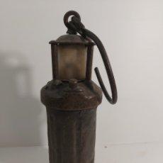 Antigüedades: LUZ DE MINA. Lote 235228975