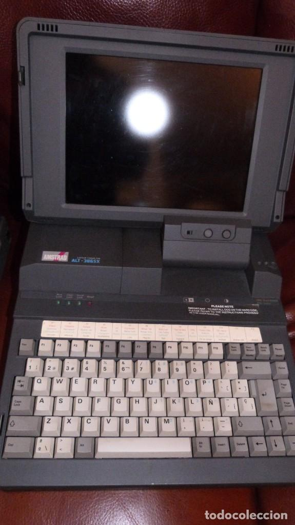 Antigüedades: HEWLETT PACKARD 85-TOSHIBA PORT.SATELLITE 220-PORT-AMSTRAD LAPTOR ALT 386 SX. 3 VETERANOS .VER FOTOS - Foto 14 - 221103402