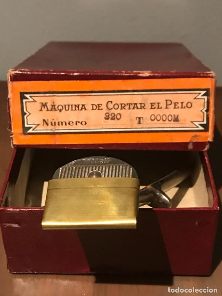 Antigüedades: MAQUINILLA DE CORTAR EL PELO KILIMON Nª 320 T 0000M - Foto 5 - 235236090