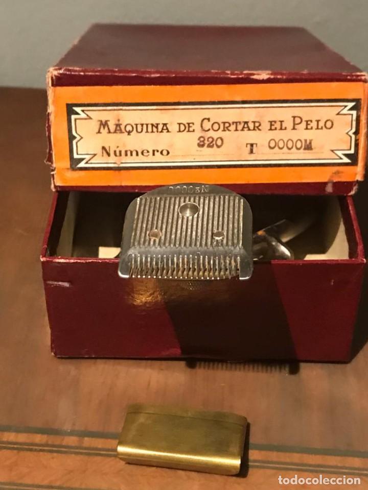 Antigüedades: MAQUINILLA DE CORTAR EL PELO KILIMON Nª 320 T 0000M - Foto 9 - 235236090