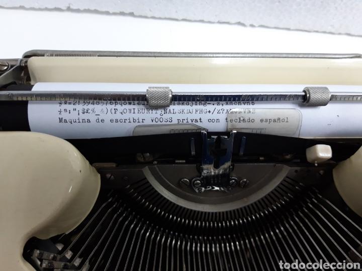 Antigüedades: Maquina de escribir VOSS Privat - Foto 2 - 235243490