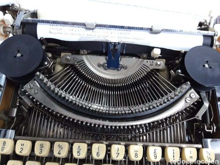 Antigüedades: Maquina de escribir VOSS Privat - Foto 4 - 235243490