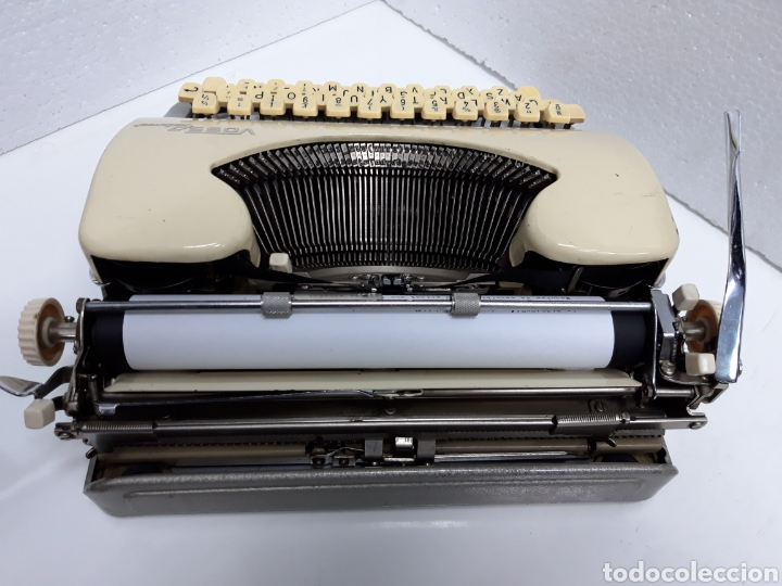 Antigüedades: Maquina de escribir VOSS Privat - Foto 5 - 235243490