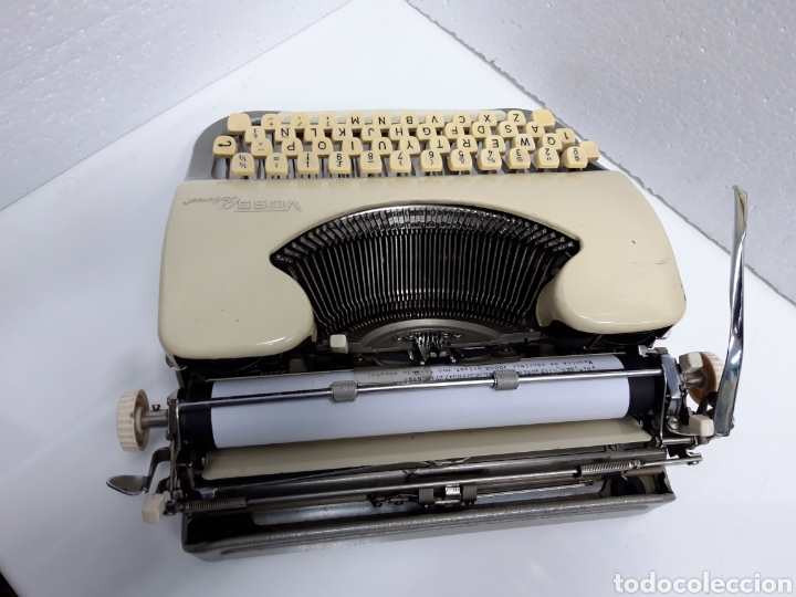 Antigüedades: Maquina de escribir VOSS Privat - Foto 6 - 235243490