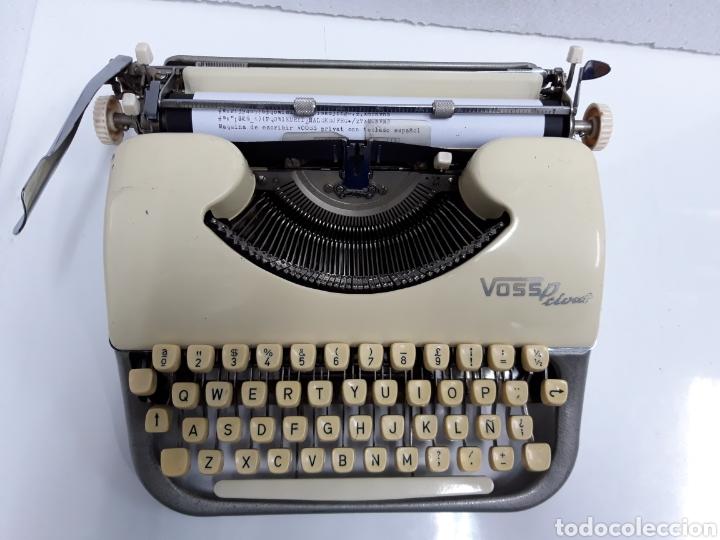 MAQUINA DE ESCRIBIR VOSS PRIVAT (Antigüedades - Técnicas - Máquinas de Escribir Antiguas - Otras)
