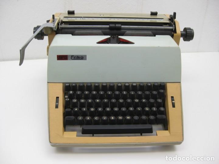 ANTIGUA MAQUINA ESCRIBIR ERIKA DARO. 16KG. (Antigüedades - Técnicas - Máquinas de Escribir Antiguas - Erika)
