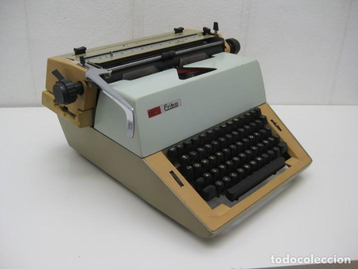 Antigüedades: Antigua maquina escribir Erika Daro. 16kg. - Foto 2 - 235245100