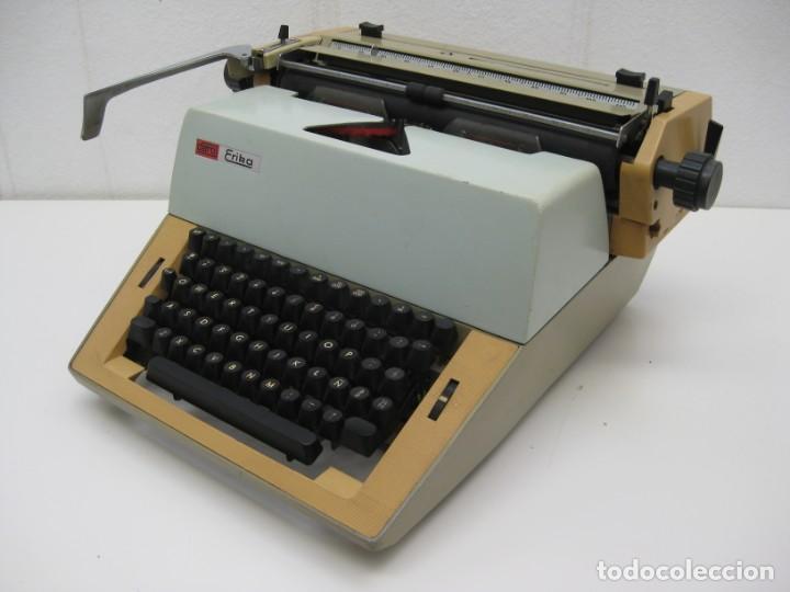 Antigüedades: Antigua maquina escribir Erika Daro. 16kg. - Foto 3 - 235245100