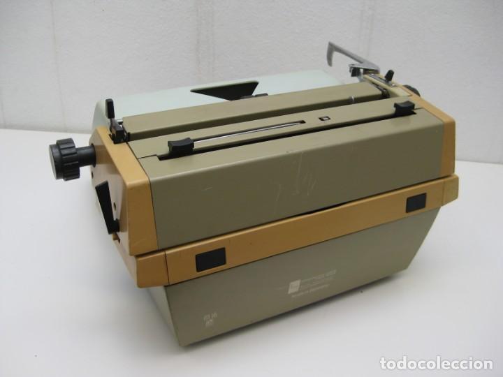 Antigüedades: Antigua maquina escribir Erika Daro. 16kg. - Foto 8 - 235245100