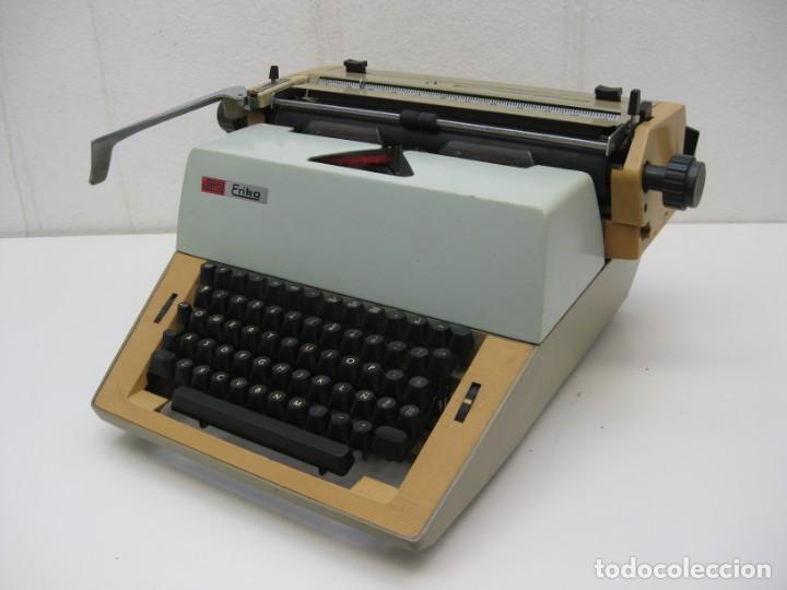 Antigüedades: Antigua maquina escribir Erika Daro. 16kg. - Foto 9 - 235245100