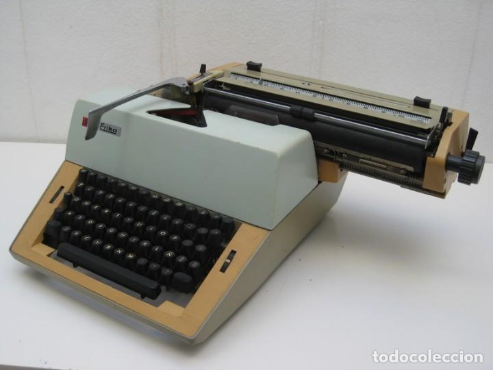 Antigüedades: Antigua maquina escribir Erika Daro. 16kg. - Foto 11 - 235245100