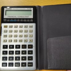 Antigüedades: CALCULADORA CASIO FC-100 FINANCIAL CONSULTANT. Lote 235259125