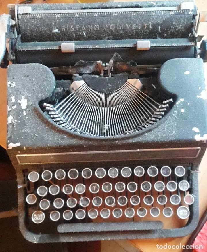 MAQUINA DE ESCRIBIR HISPANO OLIVETTI MODELO STUDIO 46 (Antigüedades - Técnicas - Máquinas de Escribir Antiguas - Olivetti)