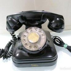 Teléfonos: ANTIGUO TELEFONO BAQUELITA NEGRO, CTNE. Lote 235334205